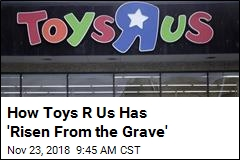 Toys R Us 'Crawling Back' With Pop-Up Surprise
