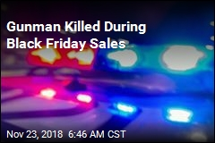 Gunman Killed During Black Friday Sales