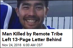Man Killed by Remote Tribe Left 13-Page Letter Behind