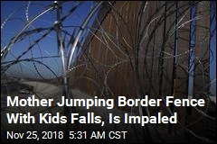 Mother Illegally Crossing Border With Kids Impaled