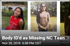 Body ID'd as Missing N.C. Teen