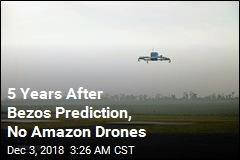 Amazon Customers Still Waiting for Drone Delivery