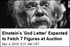 Einstein Note Declaring Religion a 'Superstition' Up for Grabs