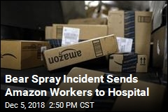 Bear Repellent Accident Sickens Amazon Workers