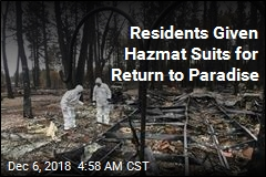 Residents Given Hazmat Suits for Return to Paradise