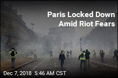 Paris Locked Down Amid Riot Fears
