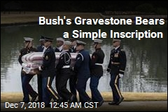 Bush Buried After Private Graveside Service