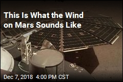 This Is What the Wind on Mars Sounds Like