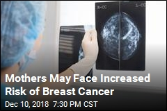Mothers May Face Increased Risk of Breast Cancer