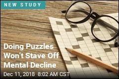 Doing Puzzles Won't Stave Off Mental Decline