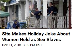 Website Makes Holiday Joke About Women Held Captive