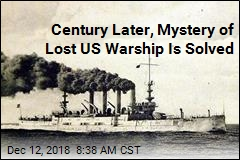 Century Later, Mystery of Lost US Warship Is Solved