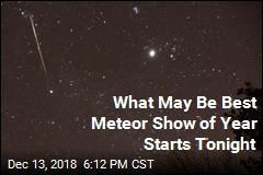 What May Be Best Meteor Show of Year Starts Tonight
