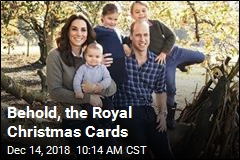 Behold, the Royal Christmas Cards