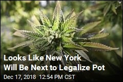New York's Cuomo: Let's Legalize Pot