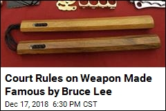 Court Rules on Weapon Made Famous by Bruce Lee