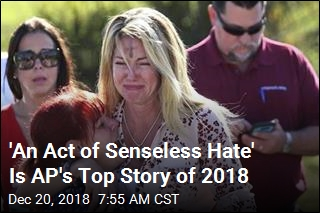 'An Act of Senseless Hate' Is AP's Top Story of 2018