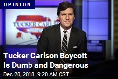 Advertisers Need to Stop Boycotting Tucker Carlson