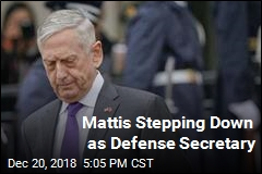 Mattis Stepping Down as Defense Secretary