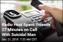 Radio Host Spent 'Intense' 27 Minutes on Call With Suicidal Man
