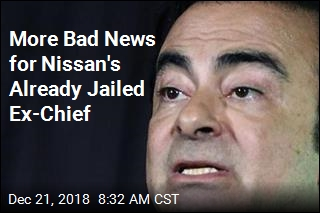 Ex-Nissan Chief May Spend Christmas in Jail After New Allegations