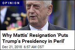 Mattis' Exit Is Way Different Than All the Rest