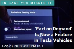 'Fart on Demand' Is Now a Feature in Tesla Vehicles