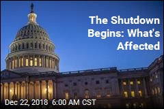 It's On: Partial Government Shutdown Begins