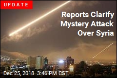 Mystery Planes Fire Missiles Near Syria