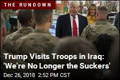 Trump Makes Surprise Trip to Visit Troops in Iraq
