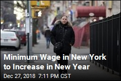 Minimum Wage in New York to Increase in New Year