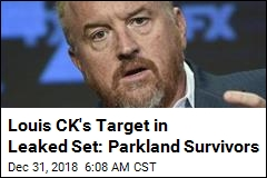 Louis CK's Target in Leaked Set: Parkland Survivors