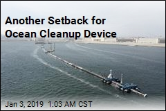Another Setback for Ocean Cleanup Device