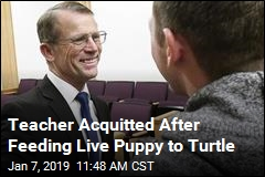 Teacher Who Fed Live Puppy to Turtle Is Cleared