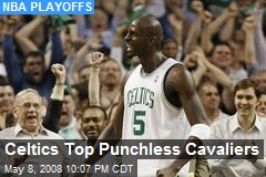 Celtics Top Punchless Cavaliers