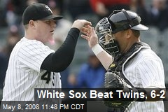White Sox Beat Twins, 6-2