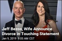 Jeff Bezos, Wife Divorcing After 25 Years