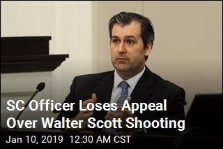 SC Officer Loses Appeal Over Shooting Conviction
