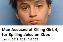 Cops: Man Killed Girl, 4 for Spilling Juice on Xbox