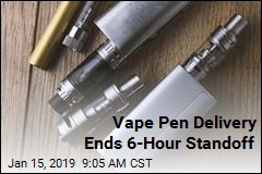 Vape Pen Delivery Ends 6-Hour Standoff