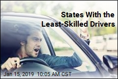 States With the Least-Skilled Drivers