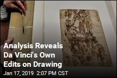 Da Vinci's Earliest Known Drawing Comes With Edits