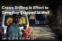 Crews Drilling in Effort to Save Boy Trapped in Well