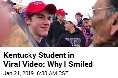 Kentucky Student in Viral Video: Why I Smiled
