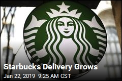 Starbucks Now Delivers
