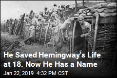 He Saved Hemingway's Life at 18. Now He Has a Name