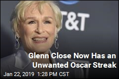 Glenn Close's Oscar Nomination Is a Record