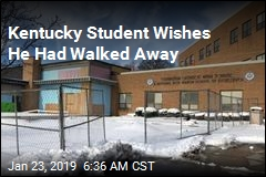 Kentucky Student Wishes He Had Walked Away