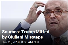 Sources: Trump Miffed by Giuliani Missteps