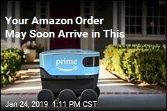 This Amazon Robot Is Now Delivering Stuff